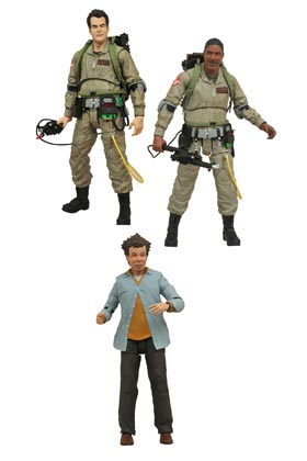 GHOSTBUSTERS SURTIDO 6 FIGURAS 18 CM GHOSTBUSTERS MOVIE SELECT ACTION FIGURES