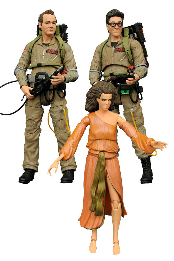 GHOSTBUSTERS SURTIDO 6 FIGURAS 18 CM GHOSTBUSTERS MOVIE SELECT SERIE 2