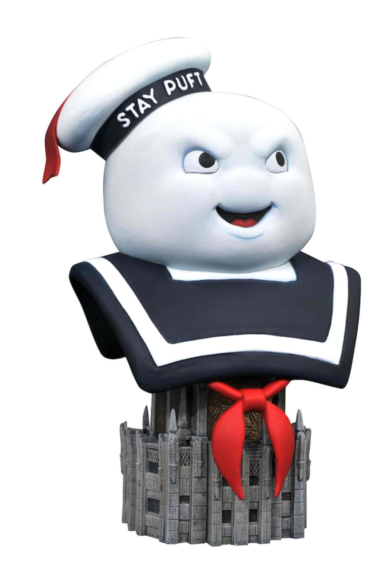 MR. STAY-PUFT BUSTO RESINA 25 CM 1/2 SCALE LEGENDS IN 3D GHOSTBUSTERS