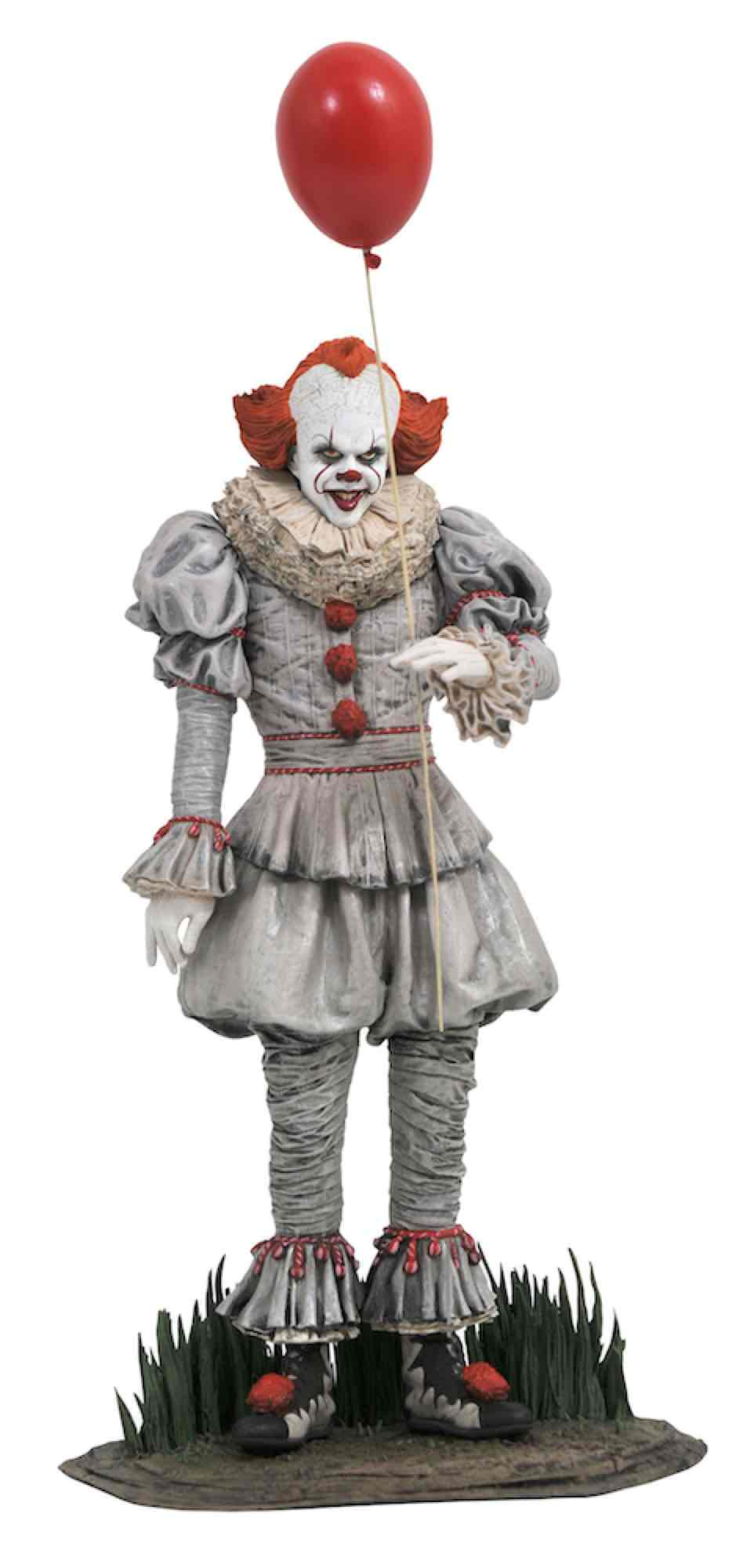 PENNYWISE DIORAMA PVC 25 CM IT GALLERY CHAPTER 2