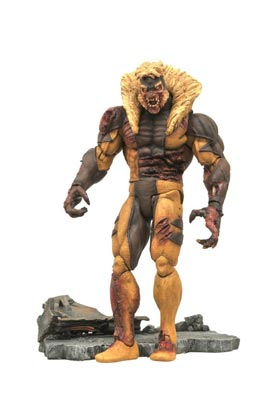 ZOMBIE DIENTES DE SABLE (SABRETOOTH) FIGURA 20 CM MARVEL SELECT