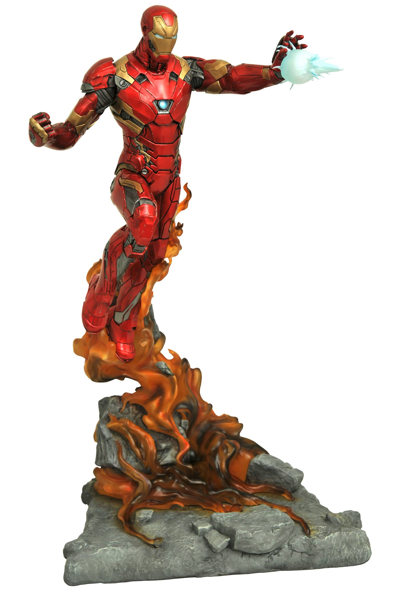 IRON MAN ESTATUA RESINA 53 CM CIVIL WAR MOVIE MARVEL MILESTONES