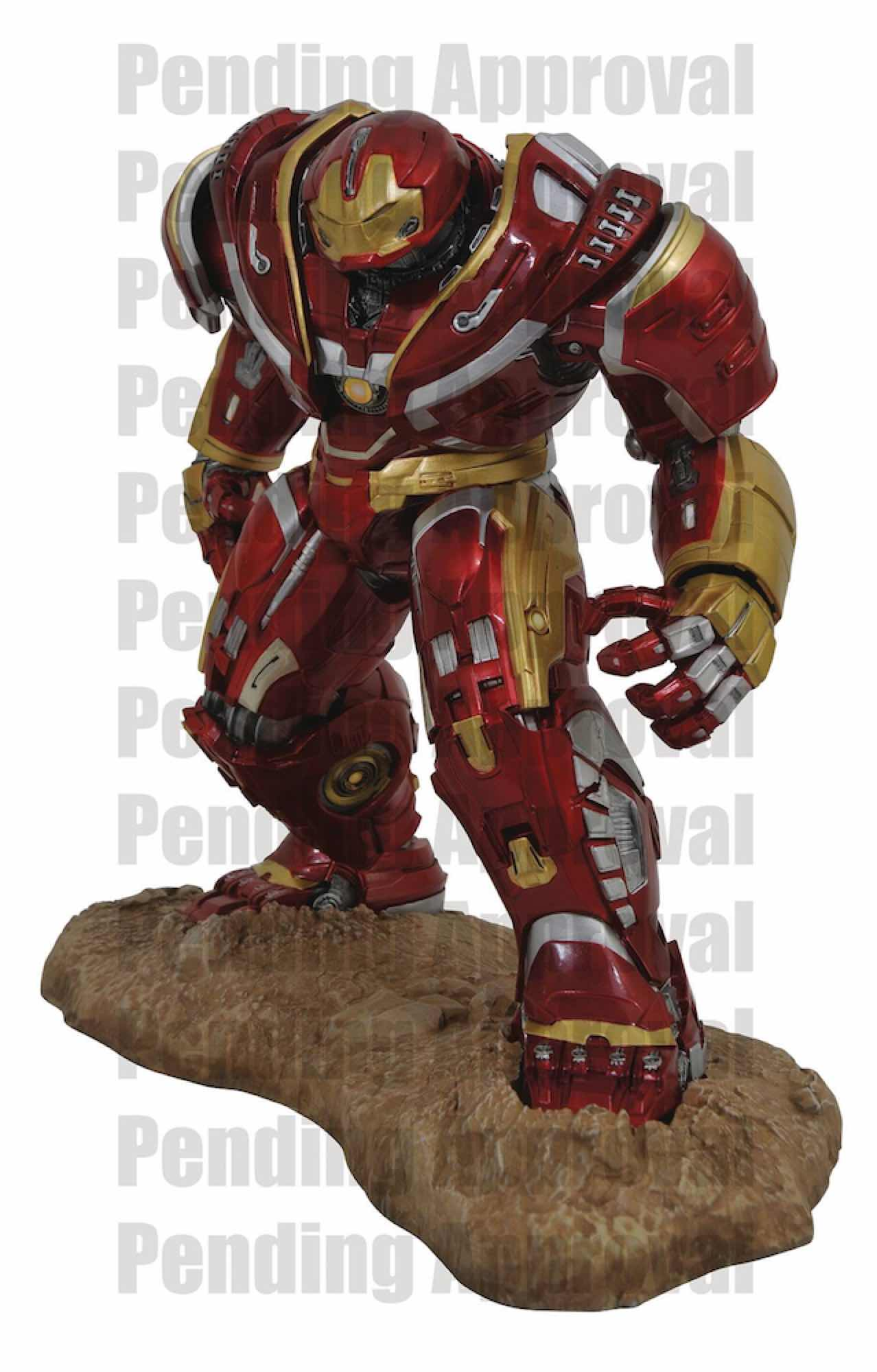 HULKBUSTER ESTATUA RESINA 40 CM MARVEL PREMIER COLLECTION AVENGERS 3