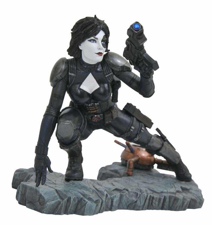 DOMINO ESTATUA RESINA 30 CM MARVEL COMIC PREMIER COLLECTION