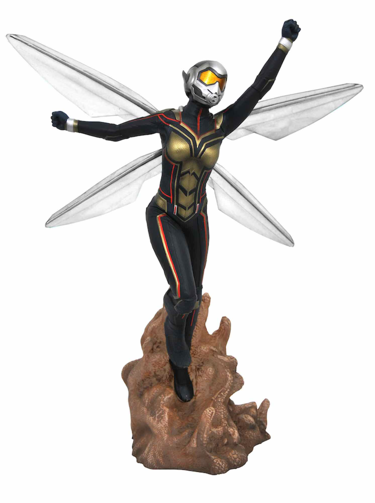 THE WASP FIGURA 23 CM PVC DIORAMA ANT-MAN & THE WASP MOVIE MARVEL MOVIE GALLERY