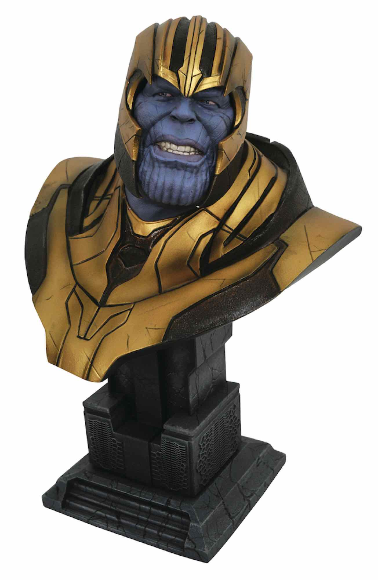 THANOS BUSTO RESINA 28 CM 1/2 SCALE LEGENDS IN 3D MOVIE AVENGERS INFINITY WAR