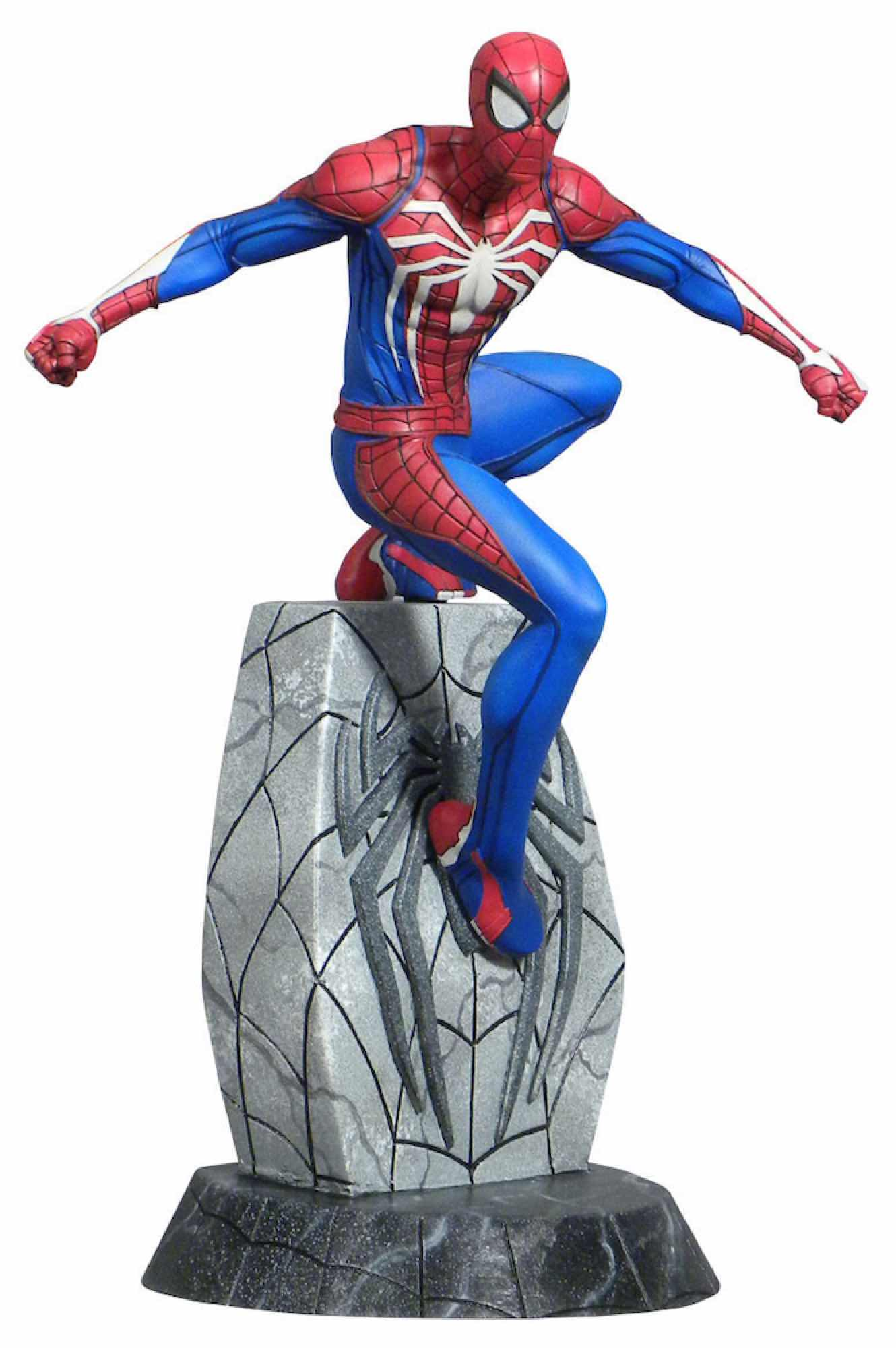 SPIDER-MAN FIGURA 25 CM PVC MARVEL VIDEO GAME GALLERY