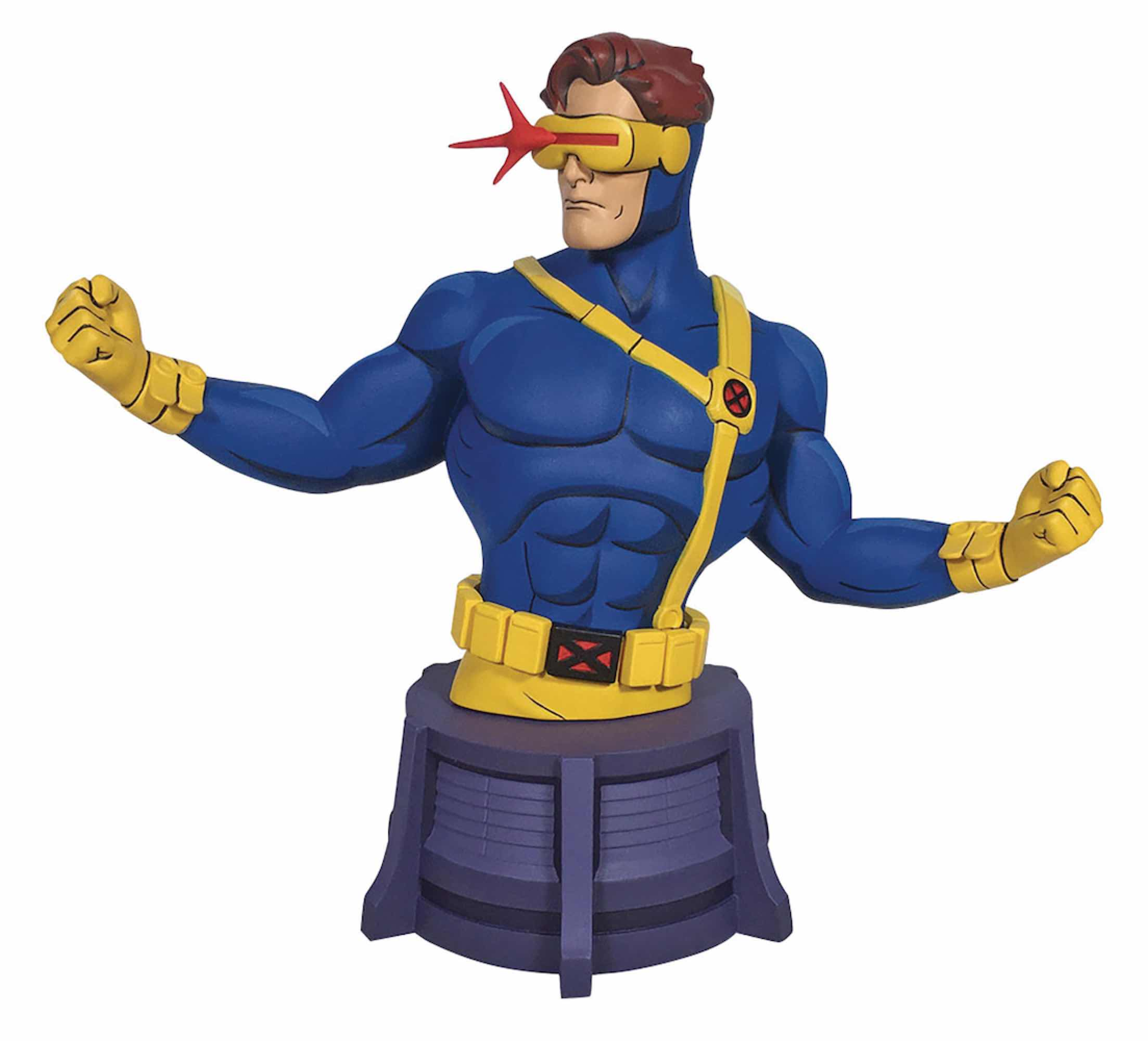 CICLOPE (CYCLOPS) MINI BUSTO RESINA 15 CM MARVEL ANIMATED X-MEN