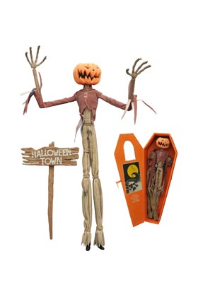 JACK PUMPKIN KING ATAUD MUÑECO 41 CM NIGHTMARE BEFORE CHRISTMAS