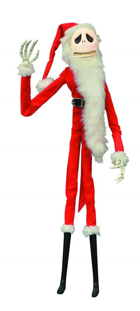 SANTA JACK ATAUD MUÑECO 40 CM NIGHTMARE BEFORE CHRISTMAS