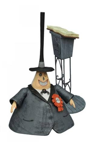 THE MAYOR FIGURA 18 CM NIGHTMARE BEFORE CHRISTMAS SELECT SERIES 2