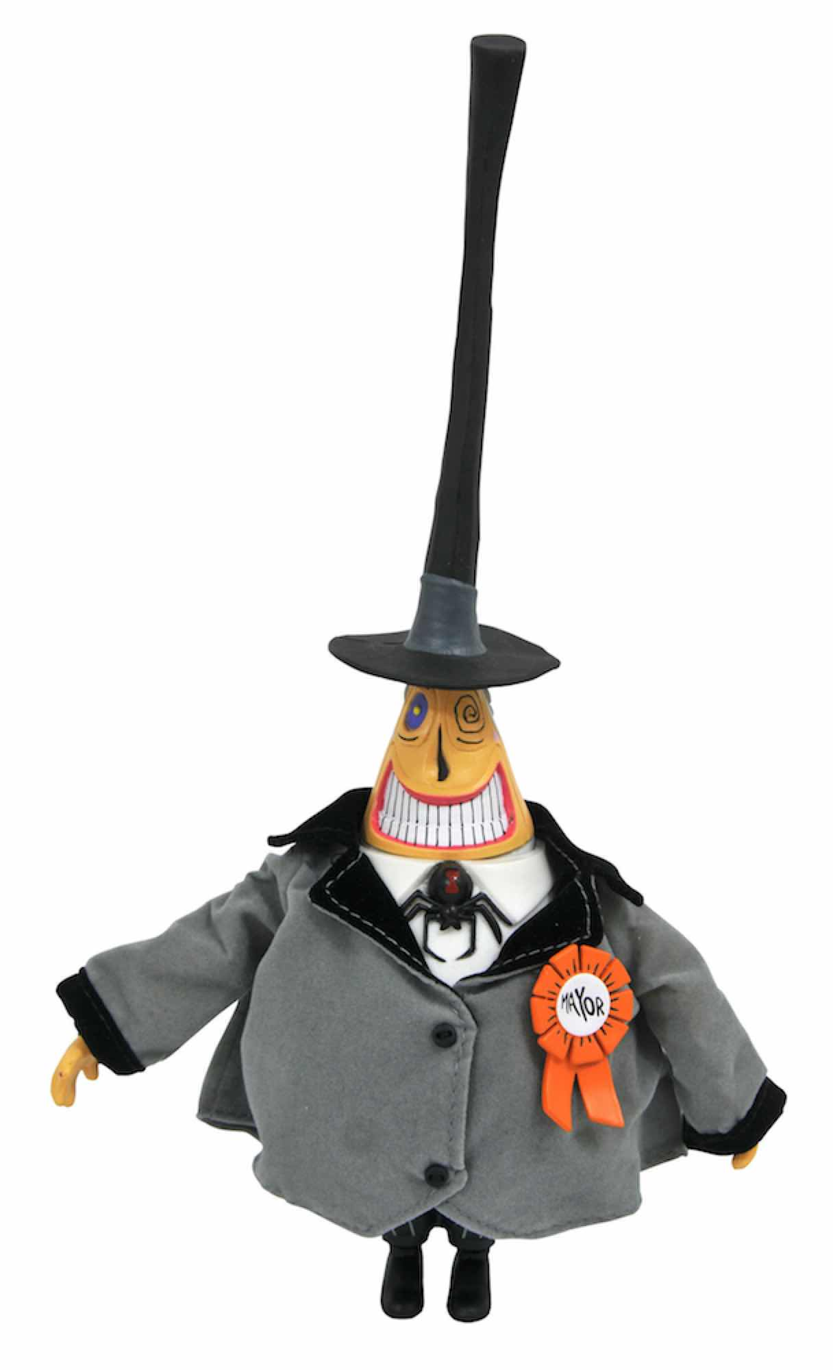 THE MAYOR FIGURA 25 CM ACTION FIGURE NIGHTMARE BEFORE CHRISTMAS SILVER ANNIVERSARY