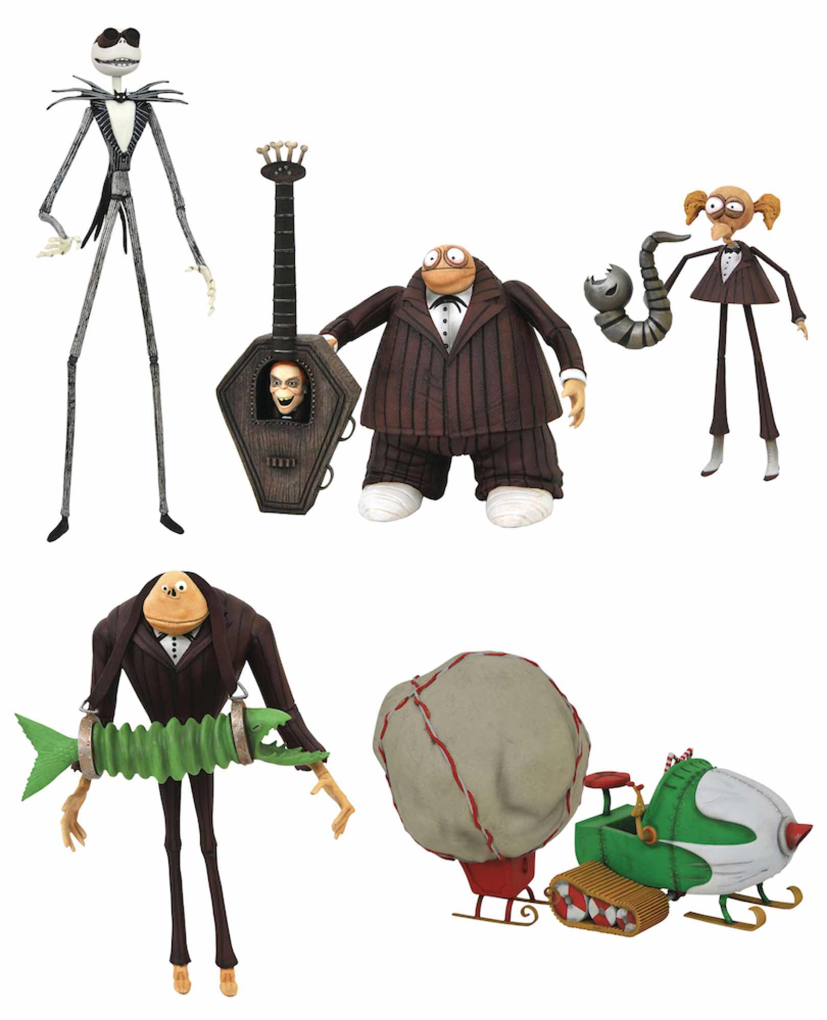 NIGHTMARE BEFORE CHRISTMAS SURTIDO FIG. SERIE 9 ACTION FIGURE NIGHTMARE BEFORE CHRISTMAS