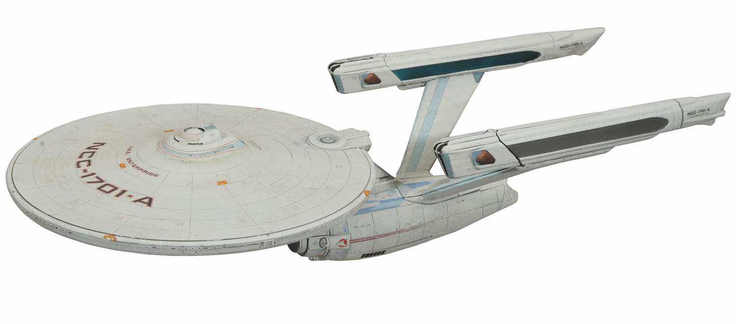 USS ENTERPRISE NCC-1701-A NAVE LUZ Y SONIDO 40 CM STAR TREK VI: THE UNDISCOVERED COUNTRY