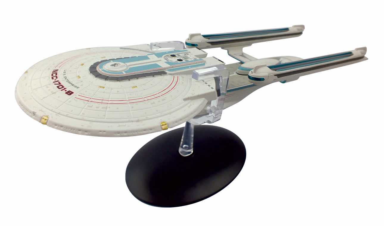 USS ENTERPRISE NCC-1701-B NAVE 27 CM THE OFFICIAL STARSHIPS COLLECTION #24 STAR TREK