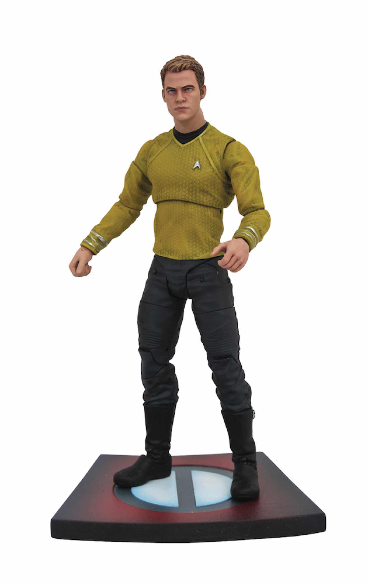 KIRK FIGURA 18 CM STAR TREK INTO DARKNESS MOVIE SELECT ACTION FIGURE