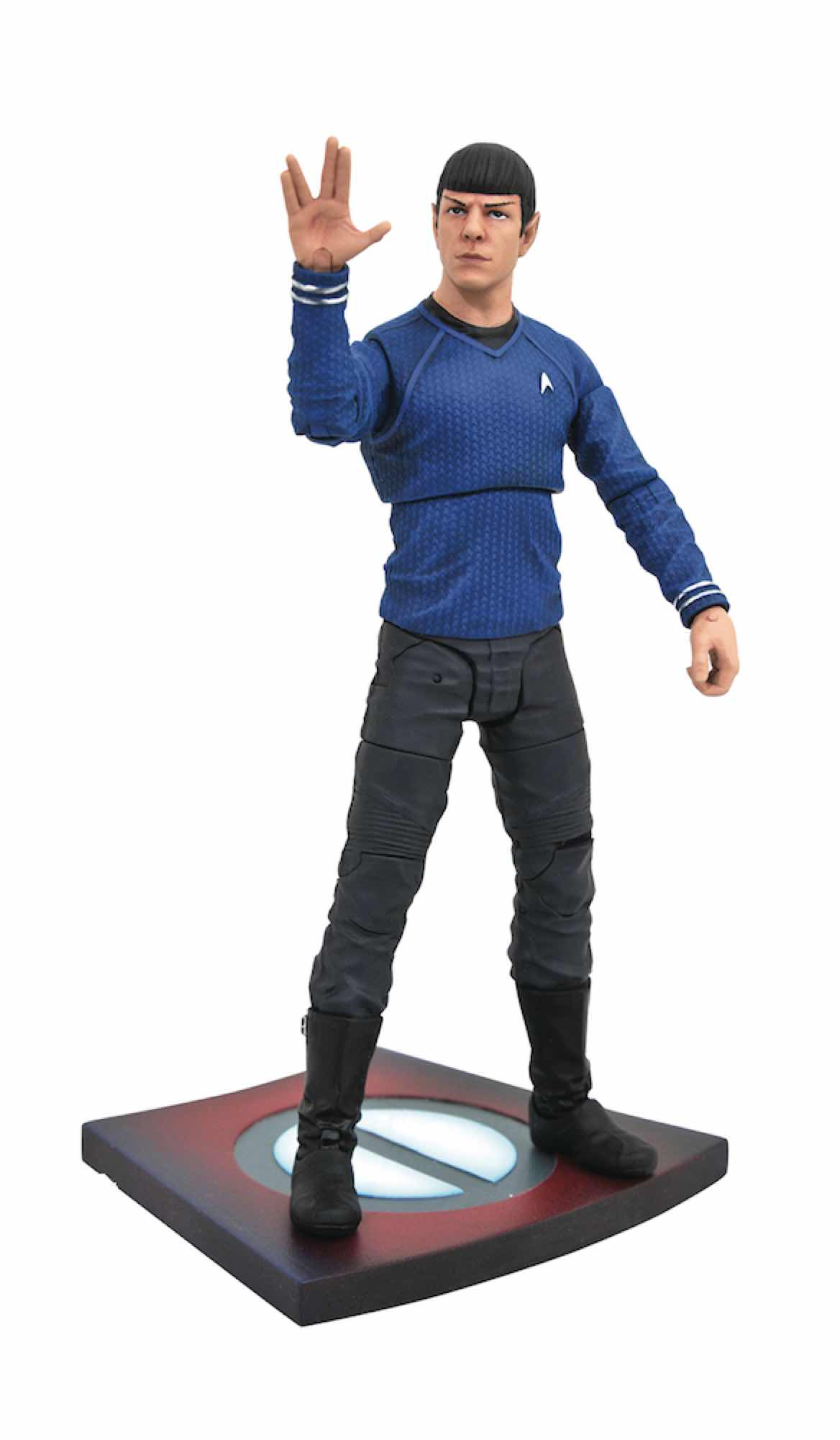 SPOCK FIGURA 18 CM STAR TREK INTO DARKNESS MOVIE SELECT ACTION FIGURE