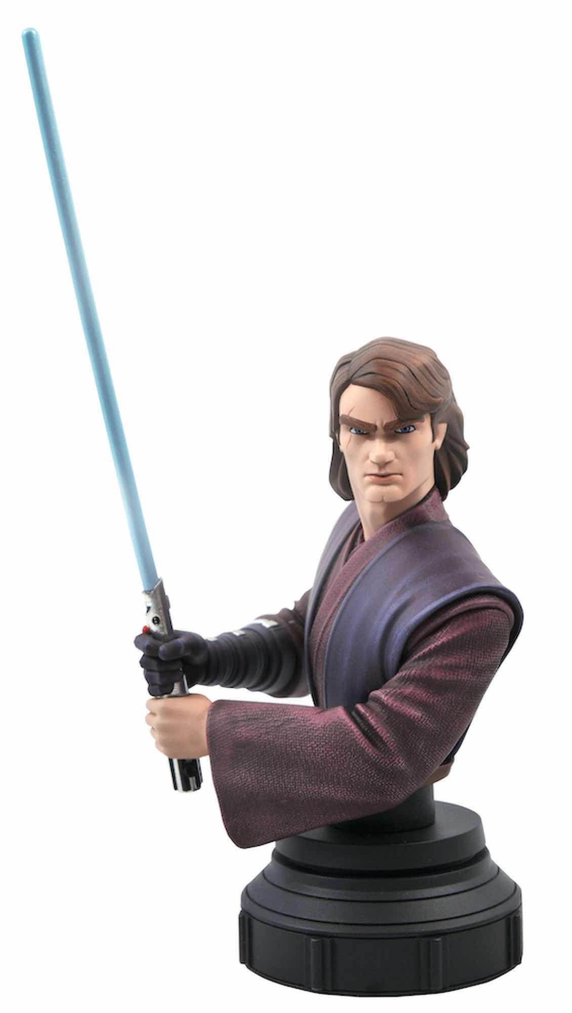 ANAKIN SKYWALKER BUSTO RESINA 15 CM 1/7 SCALE STAR WARS THE CLONE WARS