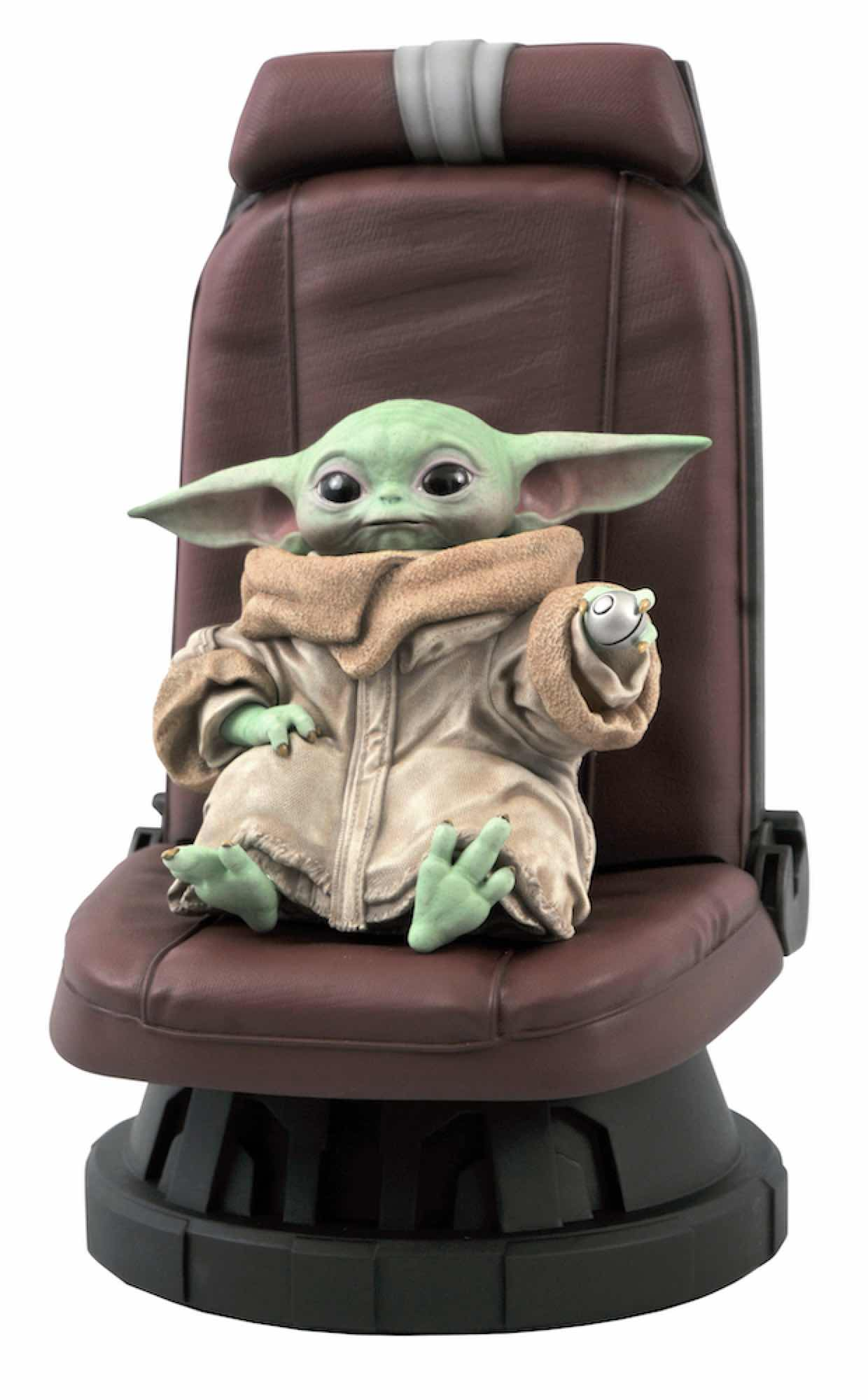THE CHILD IN CHAIR BUSTO RESINA 30 CM 1/2 SCALE STATUE STAR WARS: THE MANDALORIAN