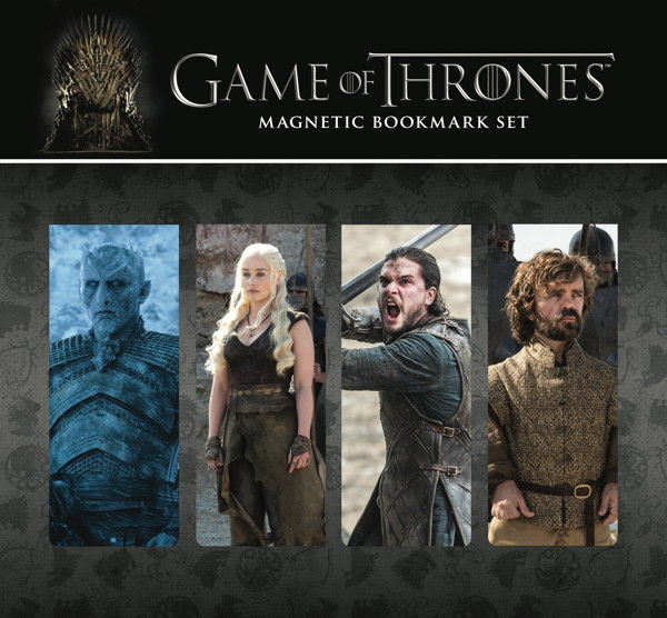 PUNTOS LIBRO MAGNETICOS SET #3  GAME OF THRONES