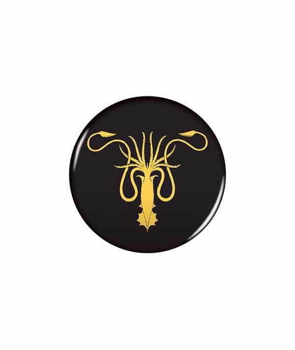 ESCUDO GREYJOY PIN 6 CM GAME OF THRONES