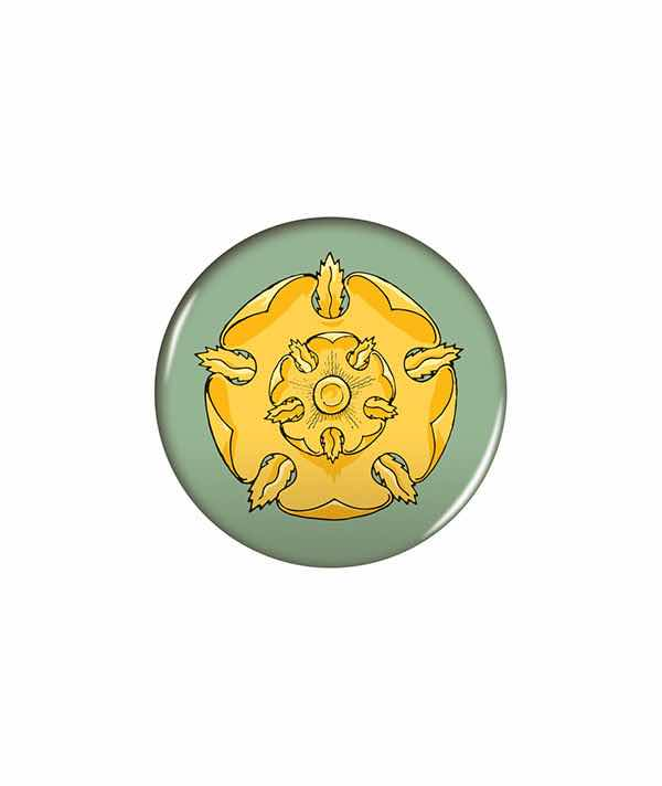 ESCUDO TYRELL PIN 6 CM GAME OF THRONES
