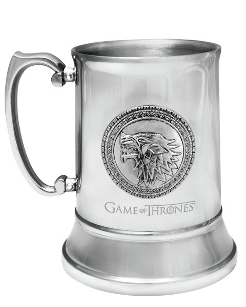 ESCUDO STARK JARRA ACERO INOXIDABLE GAME OF THRONES