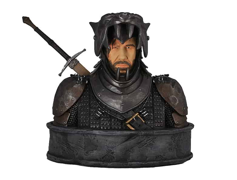 EL PERRO (THE HOUND) BUSTO RESINA 19 CM GAME OF THRONES