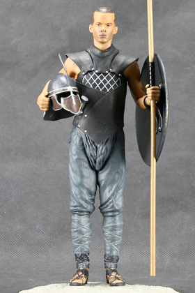 GUSANO GRIS (GREY WORM) FIGURA 19 CM HBO GAME OF THRONES