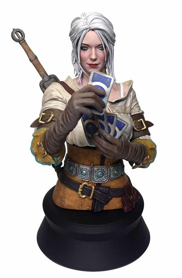 CIRI PLAYING GWENT BUSTO 21,60 CM THE WITCHER 3