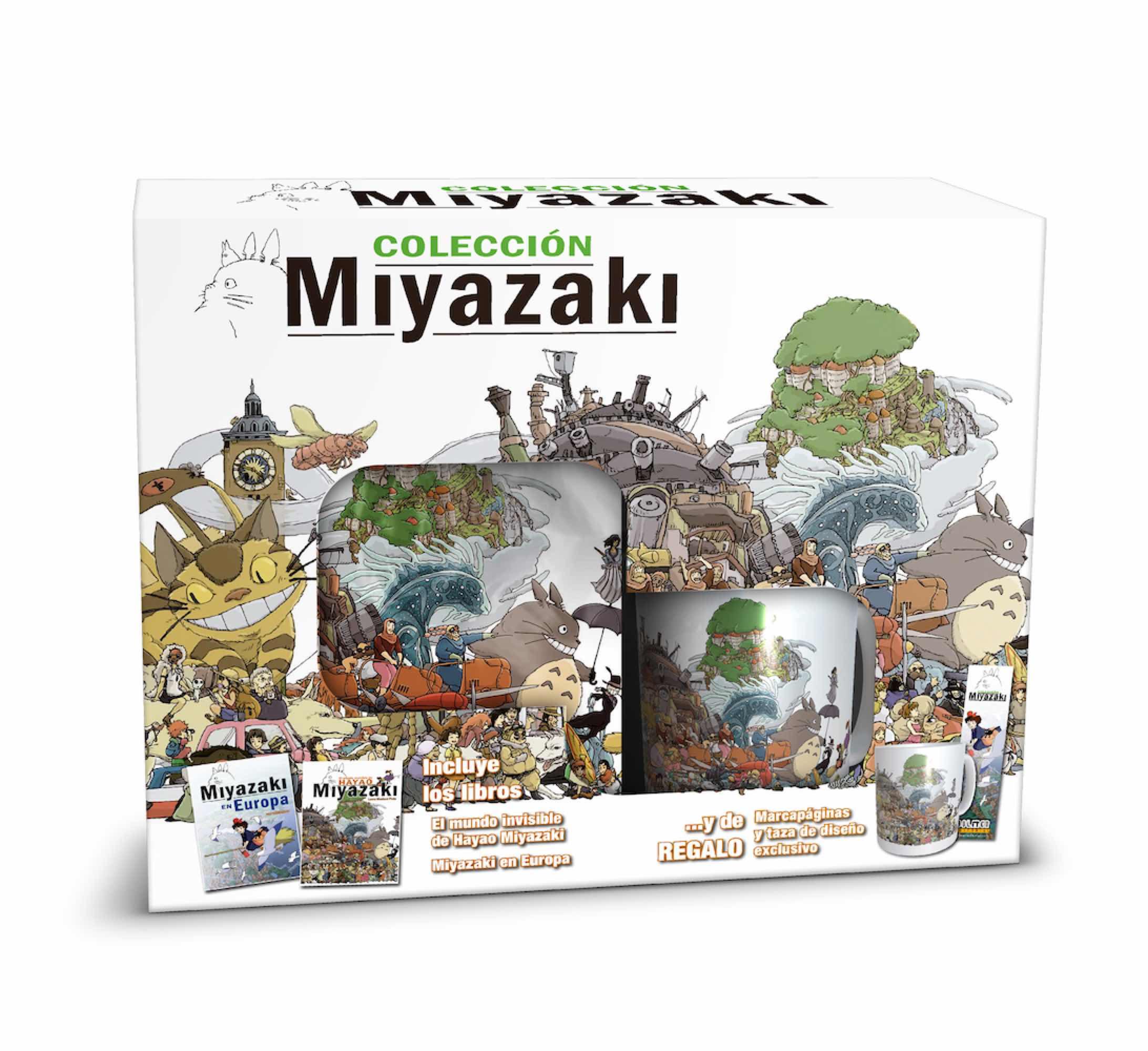 CAJA EXCLUSIVA. COLECCION MIYAZAKI
