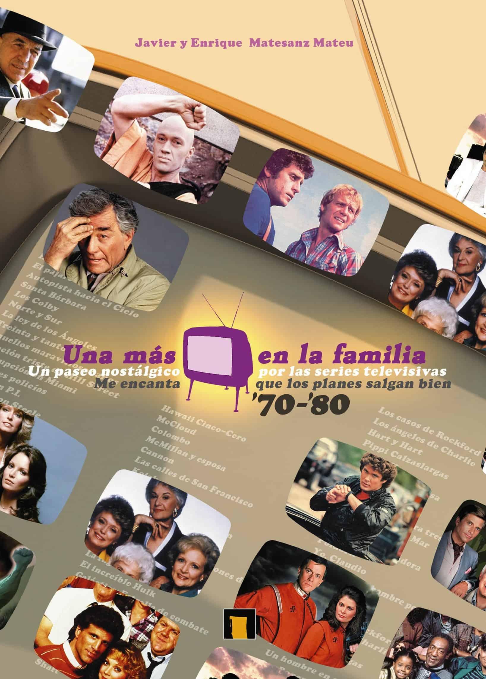 ESTUCHE UNA MAS EN LA FAMILIA (SERIES DE LOS 70 Y 80)