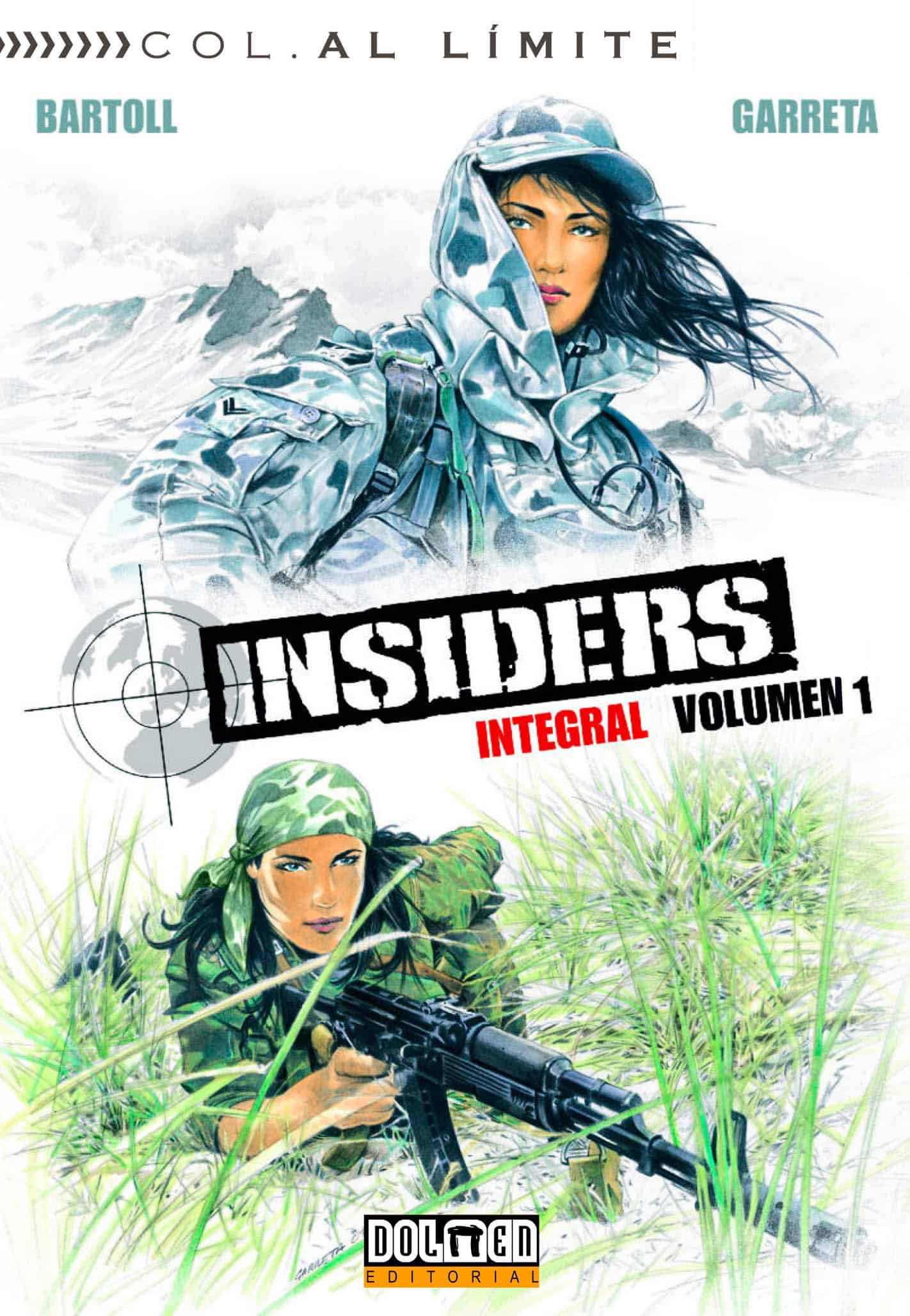 INSIDERS INTEGRAL VOL. 01