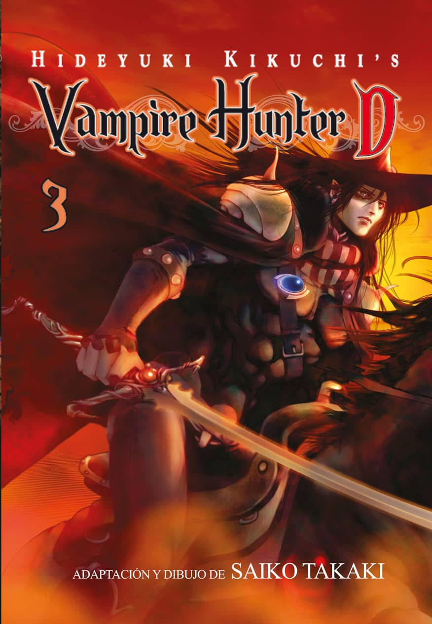 VAMPIRE HUNTER D 03 (COMIC)