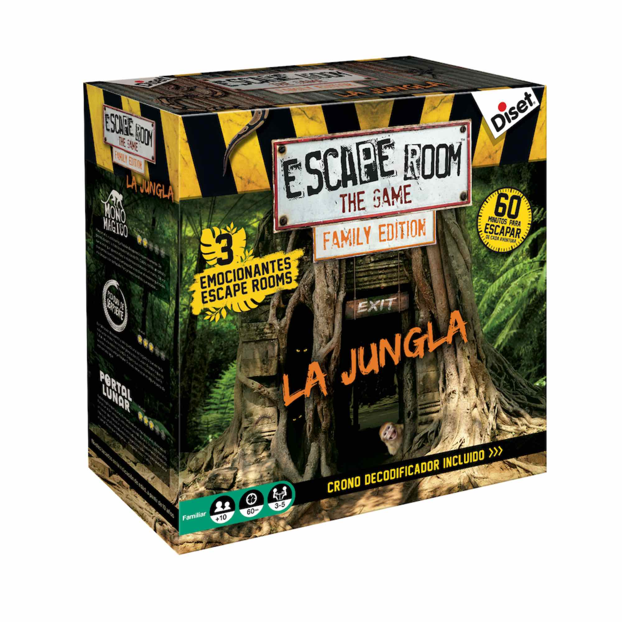 ESCAPE ROOM FAMILY EDITION - LA JUNGLA
