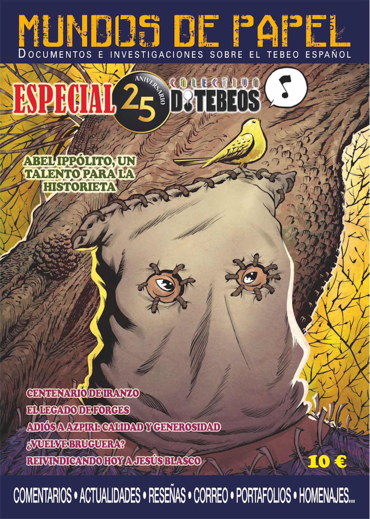 MUNDOS DE PAPEL 03. ESPECIAL 25 AÑOS DE TEBEOS