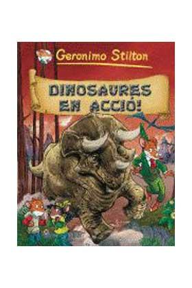 GERONIMO STILTON 07. DINOSAURES EN ACCIÓ! (CATALAN)