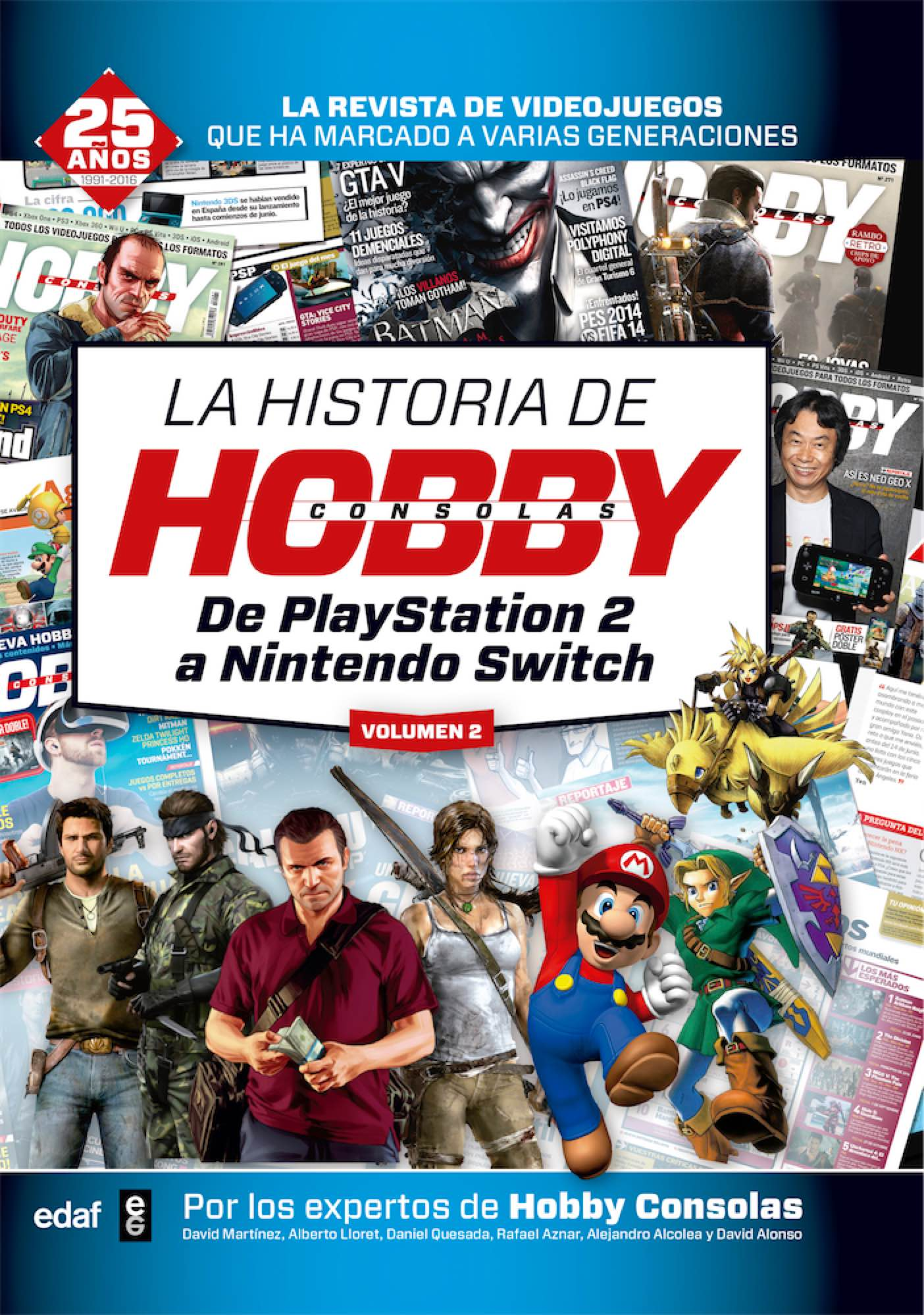 LA HISTORIA DE HOBBY CONSOLAS VOL.2: DE PLAYSTATION 2 A NINTENDO SWITCH