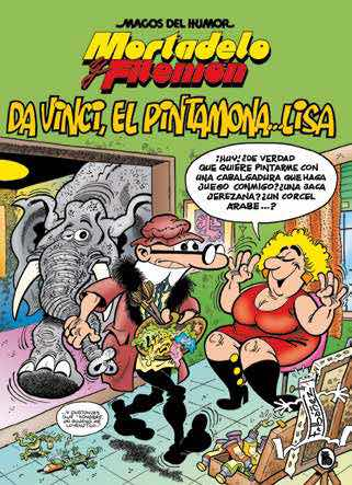 MAGOS HUMOR 198: DA VINCI, EL PINTAMONA...LISA  (MORTADELO Y FILEMON)