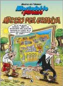 MESTRES DE L'HUMOR 57: MISSIO PER ESPANYA (MORTADELO Y FILEMON) (CATALAN)