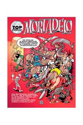 TOP COMIC MORTADELO 54: LA LITRONA...¡VAYA MONA!