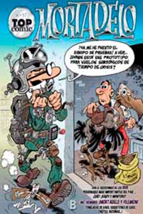 TOP COMIC MORTADELO 57. LA MAQUINA DE COPIAR GENTE