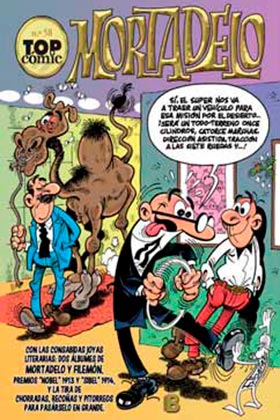 "TOP COMIC MORTADELO 58. CONTRA JIMMY ""EL CACHONDO"""