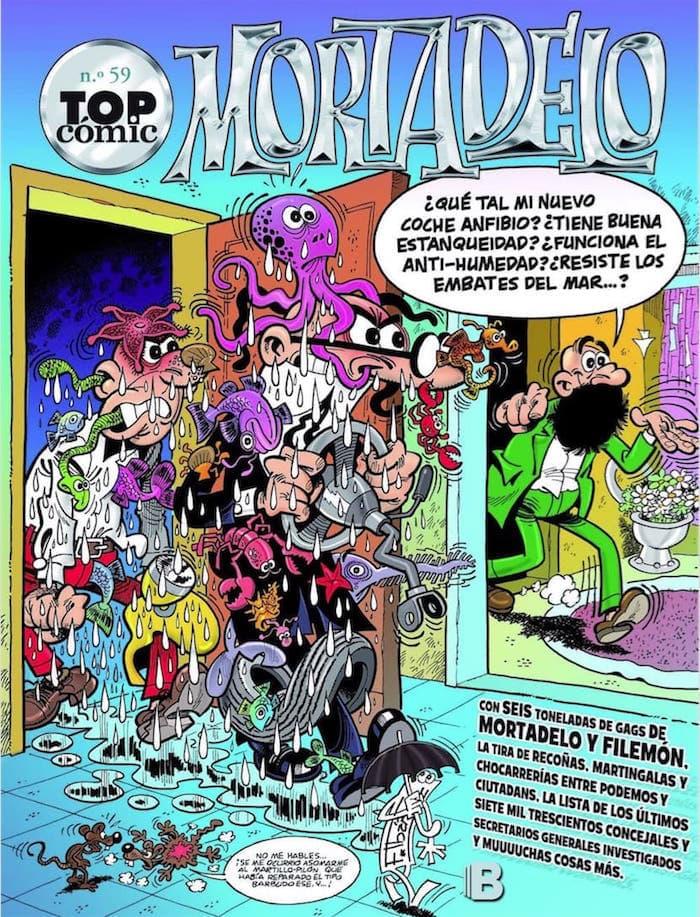 TOP COMIC MORTADELO 59: EL TESORERO