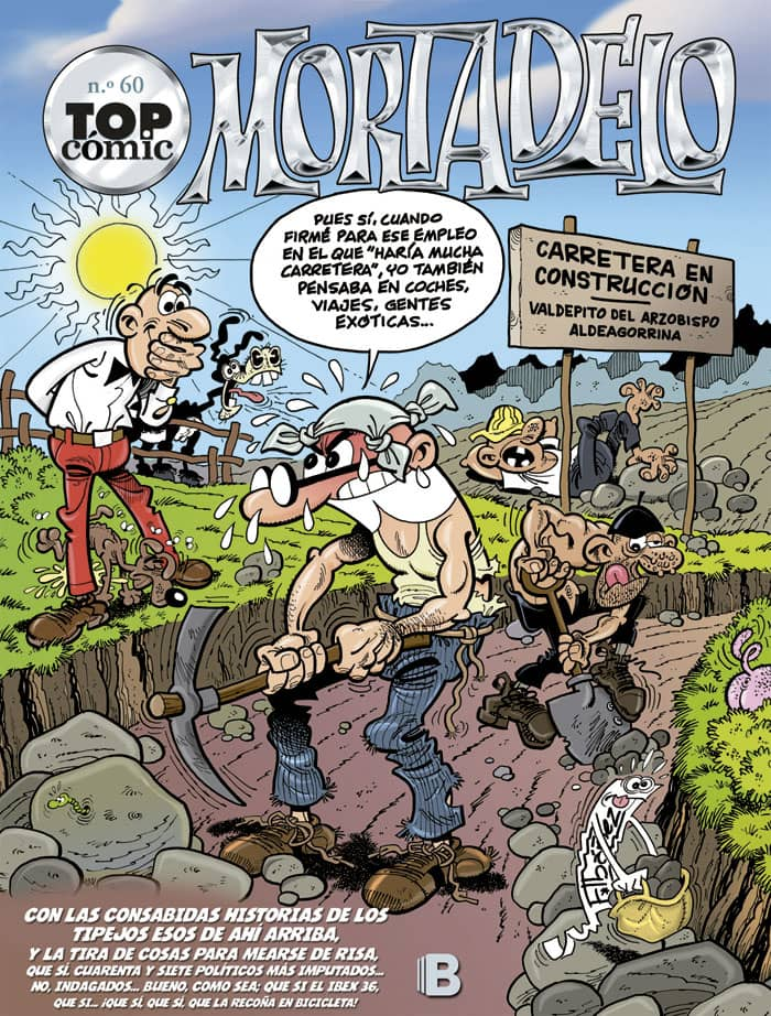 TOP COMIC MORTADELO 60: LA RUTA DEL YERBAJO