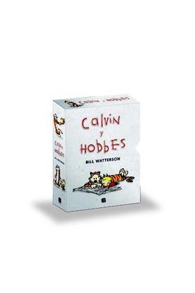 ESTUCHE COLECCIONISTA SUPER CALVIN Y HOBBES (VOLS 5 A 8)