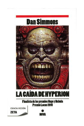 LA CAIDA DE HYPERION (ZETA) (BOLSILLO) (DAN SIMMONS)