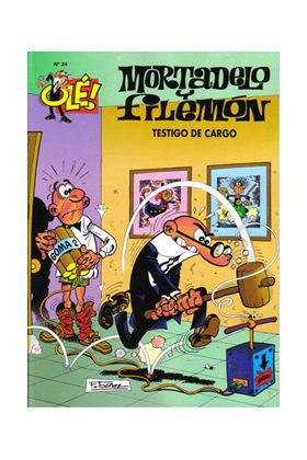 OLE MORTADELO 024: TESTIGO DE CARGO (GS)
