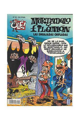 OLE MORTADELO 032: EMBAJADAS CHIFLADAS, LAS