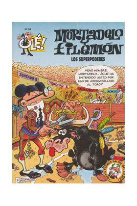 OLE MORTADELO 093: SUPERPODERES, LOS (GS)